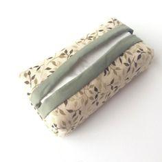 Etui à mouchoirs - range mouchoirs en tissu - accessoire pour sac à main
