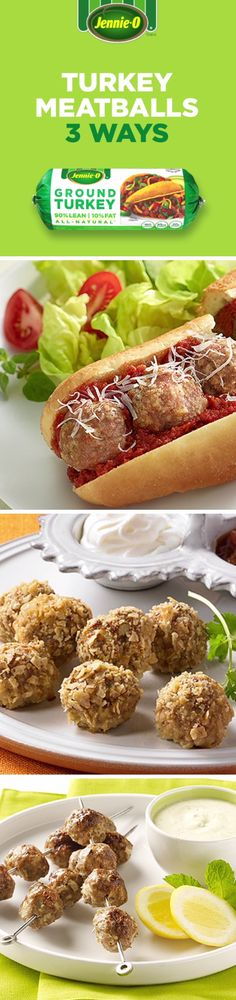 jennie oa lean ground turkey can replace beef in all your favorite meatball recipes
