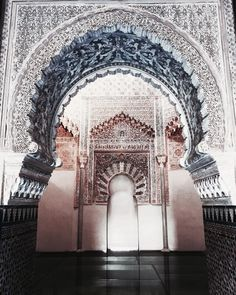 Uploaded by 𝑎𝑑𝑣𝑒𝑛𝑡𝑢𝑟𝑒 💫. Find images and videos about art, inspiration and travel on We Heart It - the app to get lost in what you love. Islamic Architecture, Classical Architecture, Beautiful Architecture, Architecture Design, Oh The Places You'll Go, Places To Travel, Riad Marrakech, Adventure Is Out There, Islamic Art