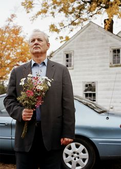 Broken Flowers (2005) by Jim Jarmush with Bill Murray, Sharon Stone, Tilda Swinton, Frances Conroy...