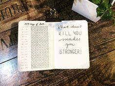 """""""Countdown to May 2018. The first quarter of a year is always really hectic and stressfull due to my…""""  Bullet journal, bujo, planner"""
