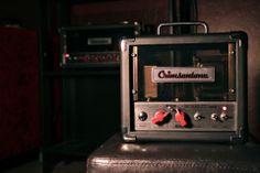 Crimsontone's Scarlet mini boutique tube guitar amplifier, guitar amp
