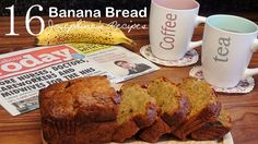 Josephine's Recipes : Banana Chocolate Chip Bread | Banana Chocolate Chip Loaf |  | 巧克力香蕉麵包 | 香蕉蛋糕 Banana Cake  - Josephine's Recipes 16