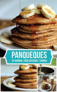 Receta ideal para los niños. Un desayuno delicioso y lleno de proteínas, hierro y magnesio, gracias al aporte de la deliciosa quinua.