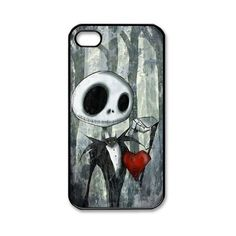 Disney the Nightmare Before Christmas iPhone 4 4s Case Durable iPhone... ($0.79) ❤ liked on Polyvore