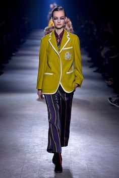Dries Van Noten RTW Fall 2016 - Wardrobe Essential, the Blazer!