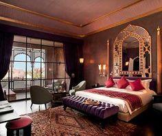 Red Bedroom Design, Romantic Bedroom Design, Simple Bedroom Design, Bedroom Design Inspiration, Modern Bedroom, Bedroom Designs, Design Ideas, Romantic Bedrooms, Interior Design
