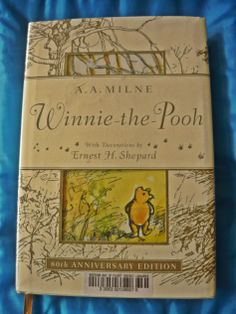 The Winnie the Pooh Anniversary Book. Enough Book, Kinds Of Story, Ernest Hemingway, Reading Challenge, Winnie The Pooh, Verses, How To Become, Anniversary, Teaching