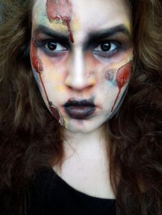 Halloween, makeup, sfx, special effects, zombie, nurse, costume ...