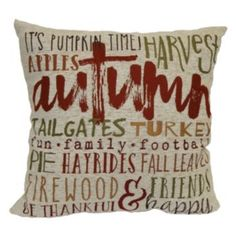 Celebrate+Fall+Together+Fall+Words+Throw+Pillow