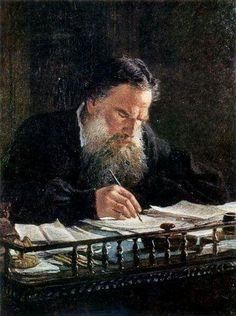 Portrait Of Leo Tolstoy Nikolai Ge 1884