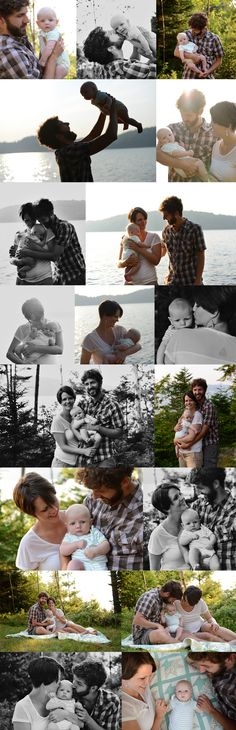 3 month baby, family session, summer, outdoors, lake, quilts  Oliver & Company | New Brunswick Family Photography - Captured by Karissa
