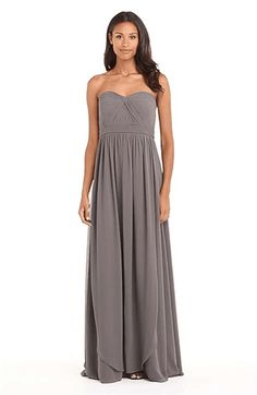 Jenny Yoo 'Aidan' Convertible Strapless Chiffon Gown on Wantering  #OscarsPinParty      Click Pic Save 40%