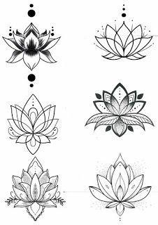 small tattoos for women / small tattoos . small tattoos with meaning . small tattoos for women . small tattoos for women with meaning . small tattoos for women on wrist . small tattoos with meaning inspiration Lotus Tattoo Design, Small Lotus Tattoo, Flower Tattoo Designs, Lotus Flower Tattoos, Lotus Mandala Tattoo, Lotus Flower Art, Lotus Flower Drawings, Lotis Flower, Lotus Henna