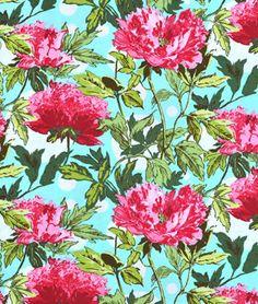 Amy Butler Twilight Peony Amaranth Fabric - $8.95 | onlinefabricstore.net