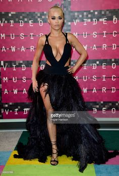 Recording artist Rita Ora attends the 2015 MTV Video Music Awards at Microsoft Theater on August 30, 2015 in Los Angeles, California.