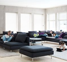 ikea soderhamn great couch with an even better name dream home pinterest living rooms. Black Bedroom Furniture Sets. Home Design Ideas
