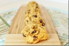 Pumpkin Chocolate Chip Cookies...check out her pumpkin chocolate chip banana bread recipe...it's so good!