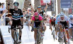 Tour de Dubai: Viviani vence 2ª etapa que teve queda no último km