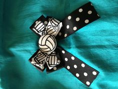 My newest creation #volleyball #bows
