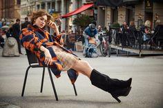 Fall Winter Fashion Style: Vera Edwall by Julio Barcena for Vogue Poland FW Stunning Photography, Fashion Photography, Autumn Winter Fashion, Fall Winter, Nyc Girl, Editorial Fashion, Fashion Trends, Female Portrait, Stylists