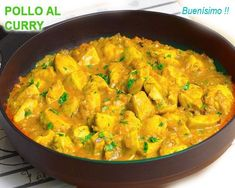 pollo al curry Barbacoa, Tapas, Healthy Life, Paleo, Food And Drink, Cooking Recipes, Gluten Free, Sweets, Meals