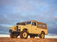 """The beast of the east. 1970 Series 2a Ex-MOD 109"""" 53k miles from new. Started life as a Military ambulance training vehicle until it came to the USA in the early 1990's when it became a pickup and taught me to drive stick. One of these days I will send away for the history during it's military days. Only markings on the seat box were """"T.M.P.  O.R.D.  Warminster"""" anyone know what that stands for? #roversofnantucket #landrover #landroverusa #landroverseries #series2a #series109 #nantucket…"""