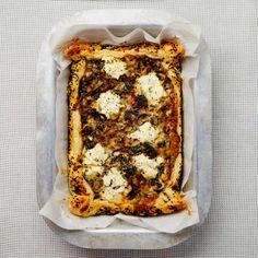 Swiss chard and ricotta pie - Yotam Ottolenghi's recipes for fuss-free savoury bakes Yotam Ottolenghi, Ottolenghi Recipes, Baking Tins, Baking Recipes, Cake Recipes, Dairy Recipes, Cornbread Cake, Coconut Flan, Ricotta Pie