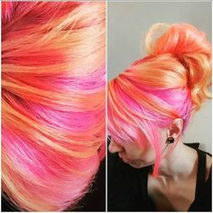Manic Panic haircolor Beauty: Fantasy Unicorn Purple Violet Red Cherry Pink Bright Hair Colour Color Coloured Colored Fire Style curls haircut lilac lavender short long mermaid blue green teal orange hippy boho ombré woman lady pretty selfie style fade makeup grey white silver Pulp Riot