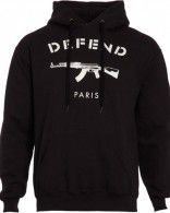 Sweat Defend Paris Noir de Brahim Zaibat