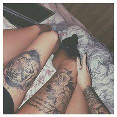 cool Best top 100 girls tattoo | @kajsacarolinee & @fridamariawikstrom Check more at http://4develop.com.ua/best-top-100-girls-tattoo/
