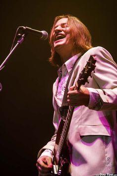 Jeff McDonald, cantante y guitarrista de Redd Kross, Azkena Rock Festival, Vitoria-Gasteiz, 01/09/2006. Foto por Dena Flows