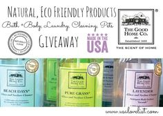 The Scent of Home: The Good Home Co. Natural, Eco Friendly Products {Giveaway} http://www.usalovelist.com/scent-home-good-home-co-natural-eco-friendly-products-giveaway/?utm_campaign=coschedule&utm_source=pinterest&utm_medium=Sarah%20Wagner%20(American%20Made%20Products)&utm_content=The%20Scent%20of%20Home%3A%20The%20Good%20Home%20Co.%20Natural%2C%20Eco%20Friendly%20Products%20%7BGiveaway%7D