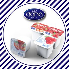DANAYO long-life yogurt in four flavors. Yogurt, Room Ideas, Dairy, Nutrition, Life, Food, Hoods, Meals, Impala