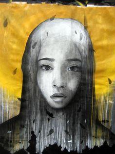 Ben Slow & Fin Dac: mural in London