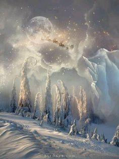 Winter Fantasy Landscape