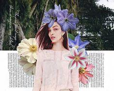 flower collage | kate rabbit