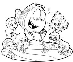 Bubble Guppies Coloring Pages1