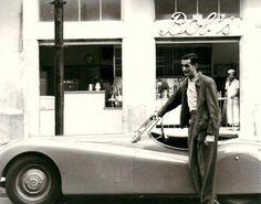 Fotos antigas do Rio de Janeiro - Rua Domingos Ferreira (1º Loja do Bob´s) - 1953