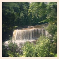Upper Tahq Falls - @marciewolf27- #webstagram