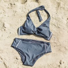 Breeze bikini - dark grey