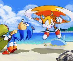 Classic Sonic, Fanart, Sonic Franchise, Sonic Art, Ova, Community Art, Large Art, Sonic The Hedgehog, Disney Characters