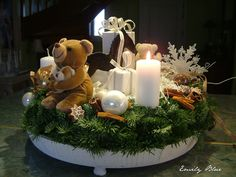 Christmas advent wreath / Couronne de l'Avent / Advent Kranz