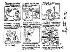 #IoSeguoItalianComics #Satira #Renzi #corradinomineo #italiariparte