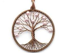 Image result for wire tree of life pendant