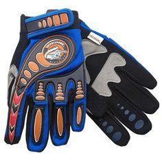 Kids' Cycling Protective Gear - Mongoose Full Finger Bike Racing Gloves Blue Youth Medium  Large BMX *** For more information, visit image link.