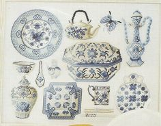 (14) Gallery.ru / Фото #2 - Les Duos de DMC- 14702A- Porcelaines de Chine - natalytretyak
