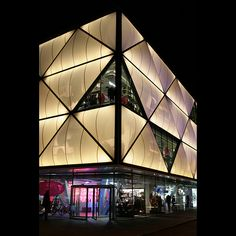 Architecture  moderne - New shopping centre in Lausanne, Switzerland