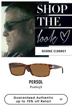 #George #Clooney wearing #Persol #Eyewear.