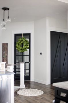 Rhonda: I like the moulding added to the barn door. Dresses it up real well.